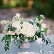 Ivory Flower and Greenery Bouquet