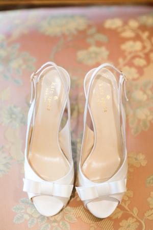 Kate Spade White Shoes