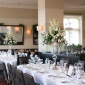 Modern Restaurant Wedding