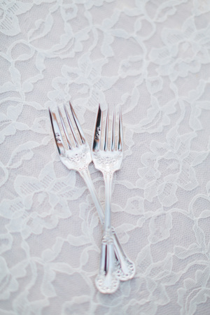 Mr and Mrs Wedding Forks