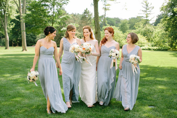 Pale Blue Bridesmaids Dresses
