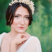 Pearl Bride Headpiece