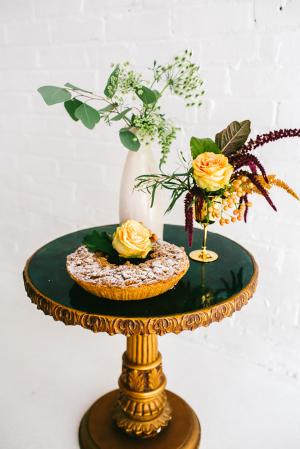Pie at Wedding
