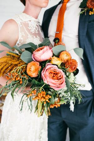 Pink and Orange Bouquet