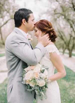 Romantic Feminine Garden Wedding Ideas 1