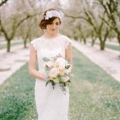 Romantic Feminine Garden Wedding Ideas 15