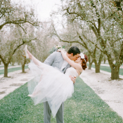 Romantic Feminine Garden Wedding Ideas 7