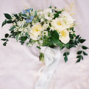 Romantic Hand Tied Bouquet