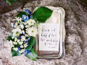 Romantic Rustic Wedding Inspiration 1