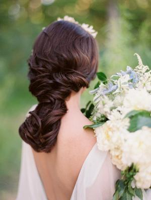 Romantic Twisted Braid Hairdo