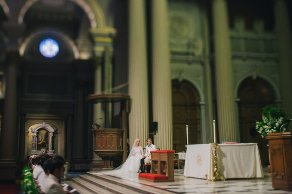 San Francisco Catholic Wedding