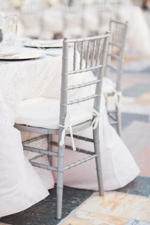Silver Chivari Chair