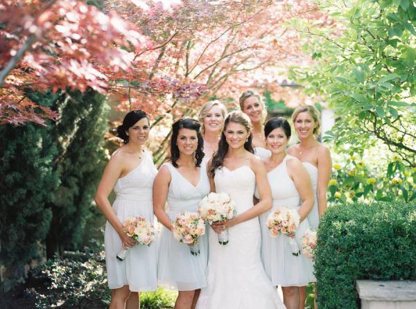 Sky Blue Bridesmaids Dresses