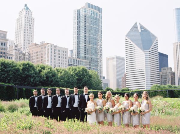Wedding Photos in Millennium Park