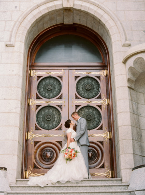 Wedding at SLC Temple