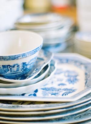 Blue Toile China