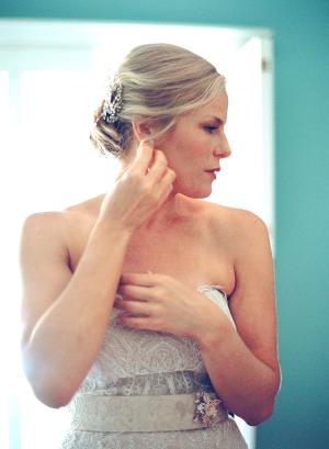 Bride in Marisa Gown