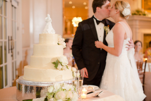 Cake Cutting DC Country Club Wedding