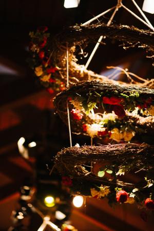 Chandelier of Twigs