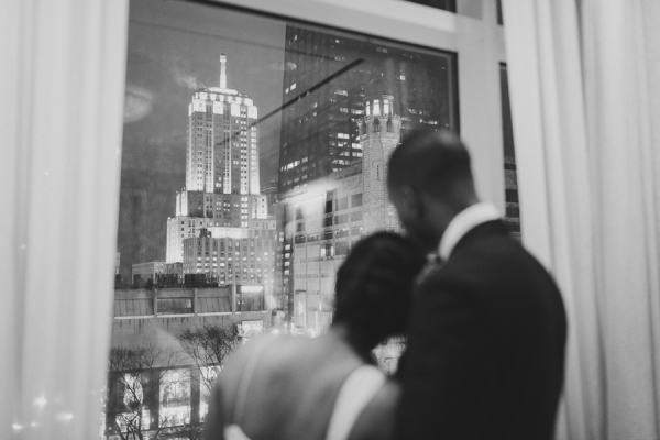 Chicago Michigan Ave Wedding