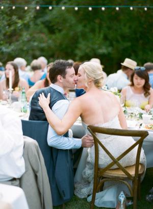Classic Summer Garden Wedding