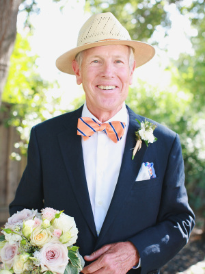 Father of the Bride in Bow Tie