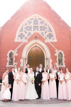 Georgetown University Chapel Wedding 1