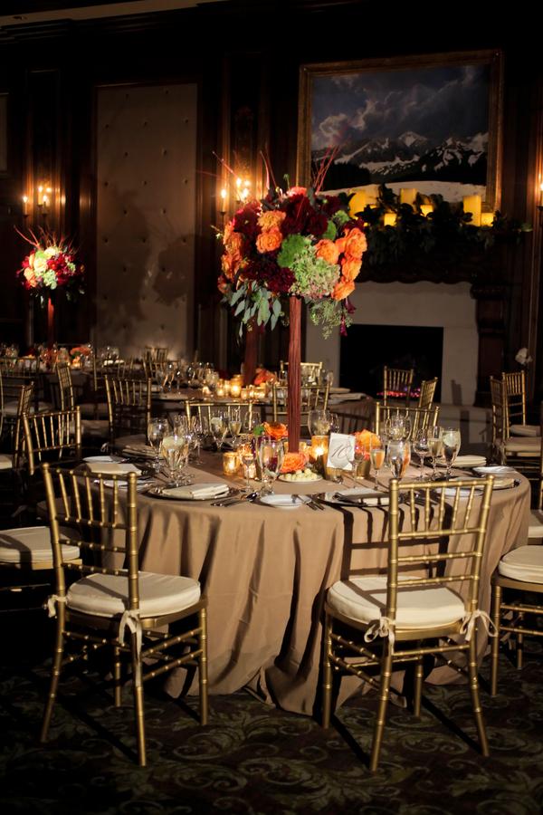 Gold burgundy wedding reception elizabeth anne designs for Burgundy wedding reception decorations