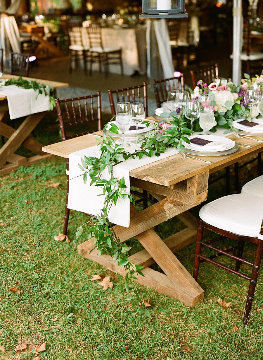Greenery Garland Table Runner Elizabeth Anne Designs