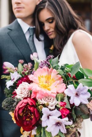 Mauve and Purple Bouquet