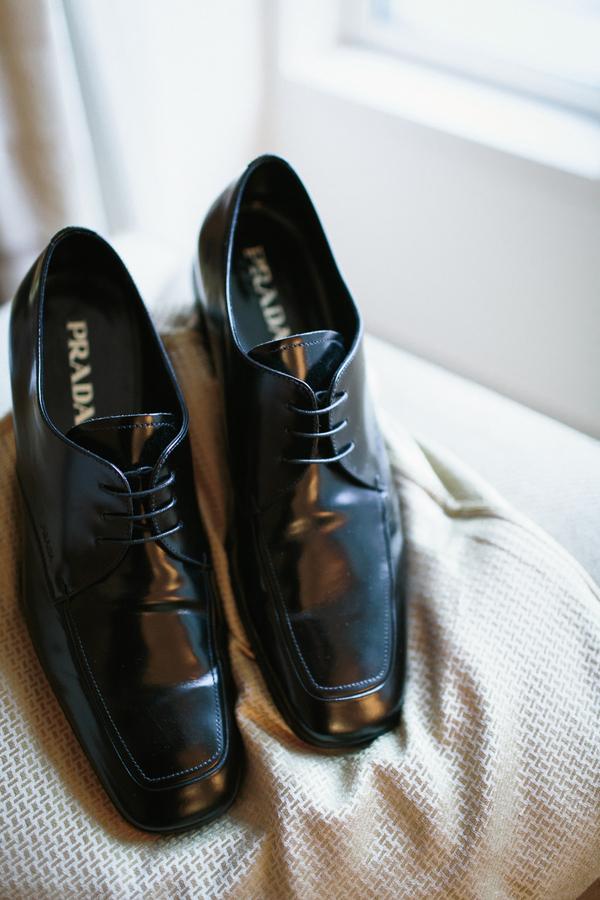 Prada Groom Shoes