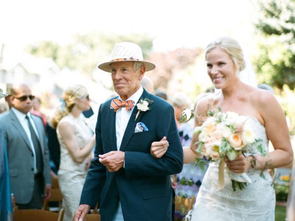 Preppy Garden Wedding