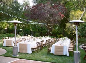 Private Estate Wedding Reception
