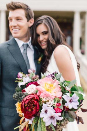 Purple and Mauve Bouquet