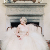 Romantic Tulle Bridal Gown