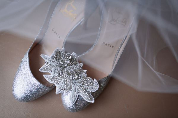 Silver Bride Shoes