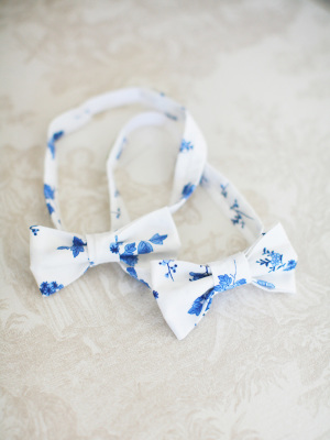 Toile Bowties for Wedding