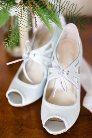 Vintage Bridal Booties