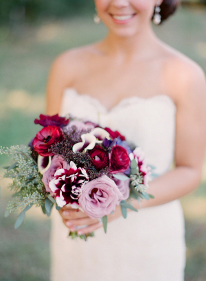 Violet and Lavender Bouquet