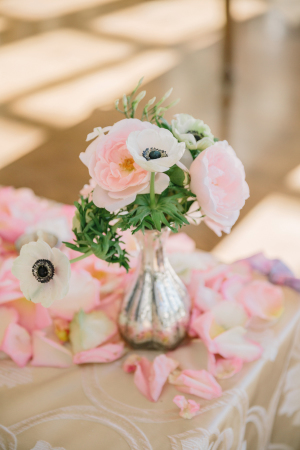 Anemone and Peony Wedding Flowers