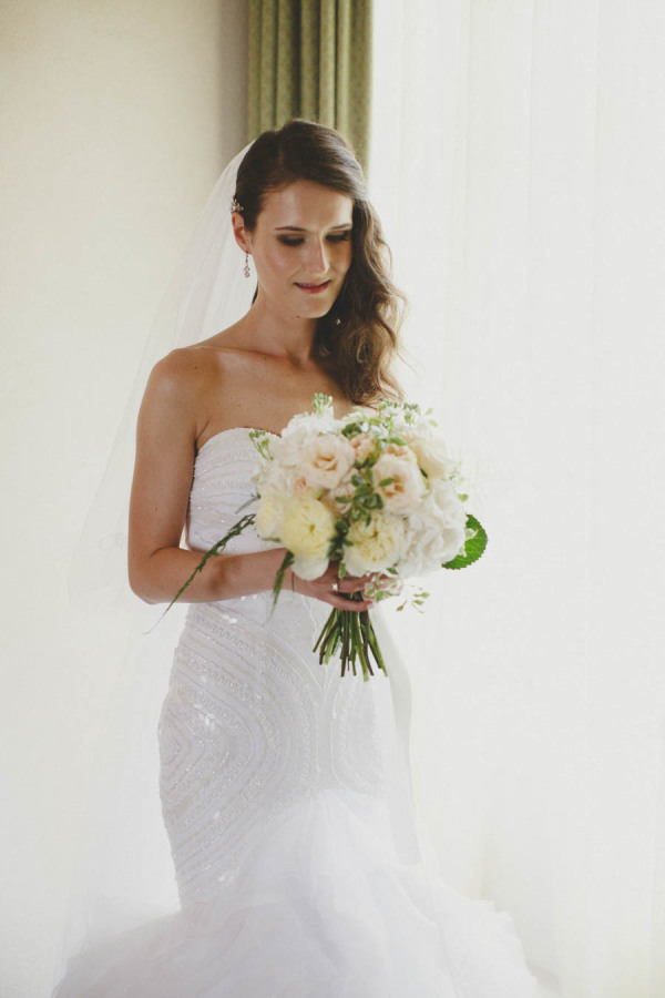 Bride in Pronovias