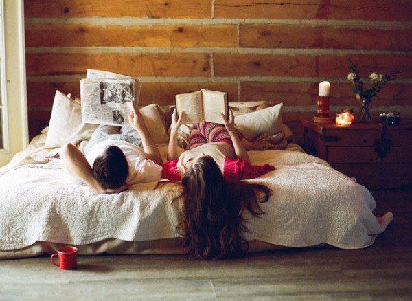 Cabin Engagement Session by Jenny McCann Photography