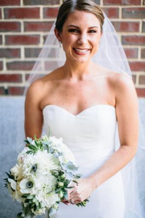 Classic Bride in Nicole Miller