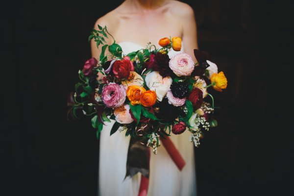 Colorful Fall Bouquet