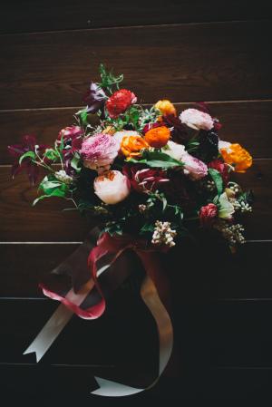 Elegant Fall Bouquet