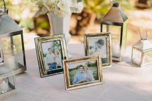 Engagement Photos at Wedding