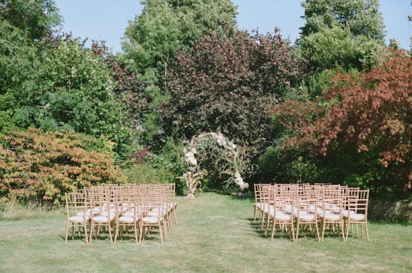 English Garden Wedding Ceremony