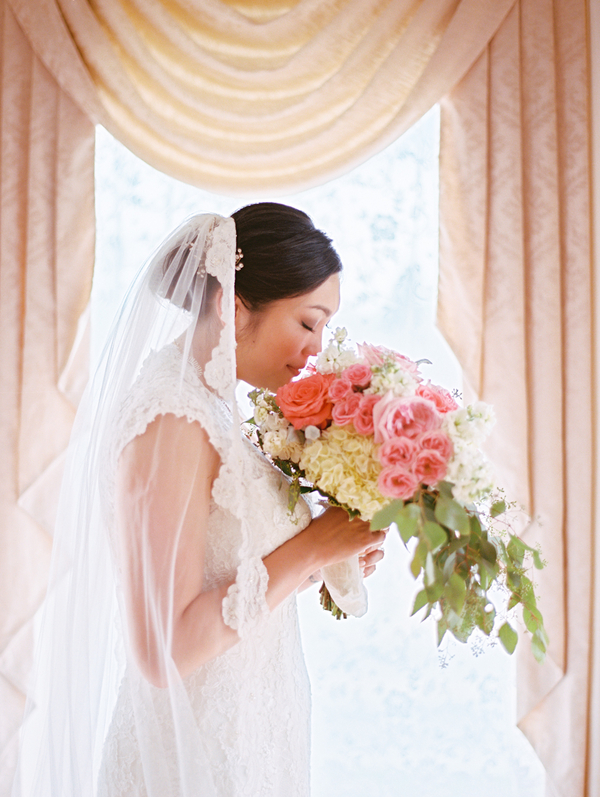 Fuchsia and Ivory Bouquet