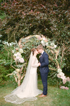 Garden Wedding Ceremony Arch
