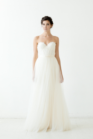 Ireland Gown with Mulberry Skirt